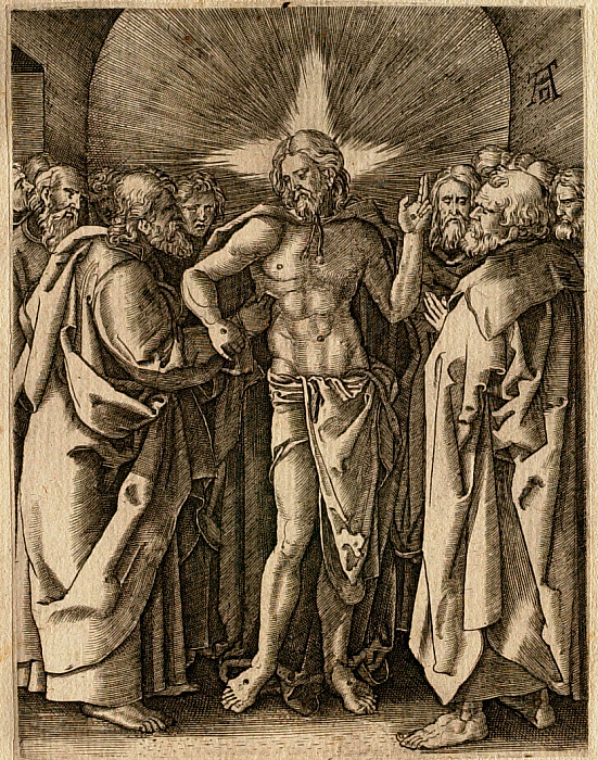 The Small Passion: The Incredulity of Saint Thomas