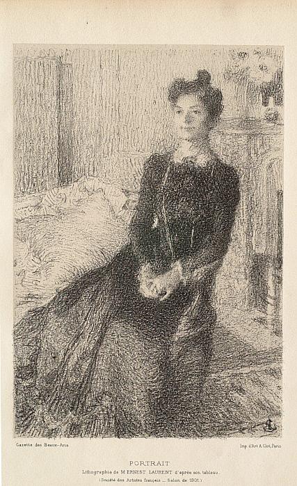 Portrait of a Woman (Madame Ernest Laurent)