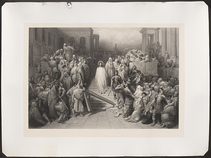 Christ Leaving the Pretorium