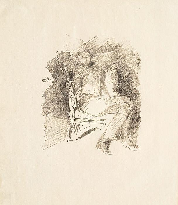 Joseph Pennell—Firelight no. 1