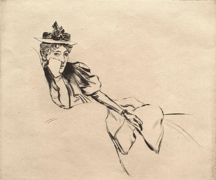 Portrait of Marie Thérèse Couturier
