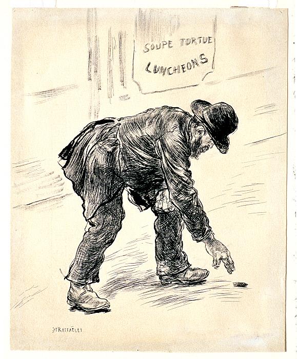 The Homeless Beggar (Le Clochard)