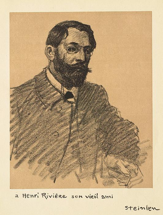 Portrait of Henri Rivière