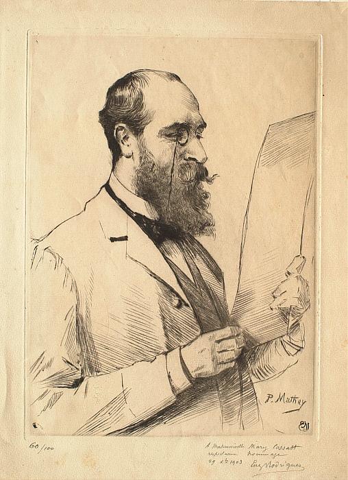 Portrait of Eugène Rodrigues (1853-1928)