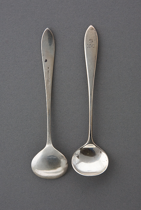 Salt spoon (pair)