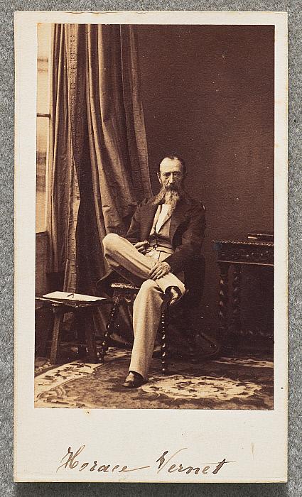 Horace Vernet Carte De Visite