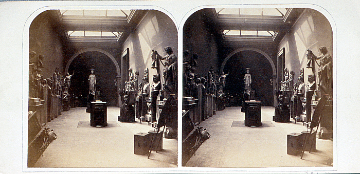 The Third Graeco-Roman Saloon on Artists' Day, British Museum