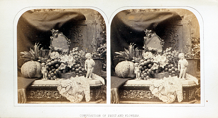 Composition of Fruit and Flowers