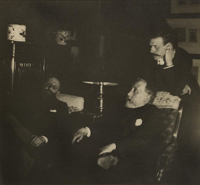 Jules Taschereau, Edgar Degas and Jacques-Emile Blanche