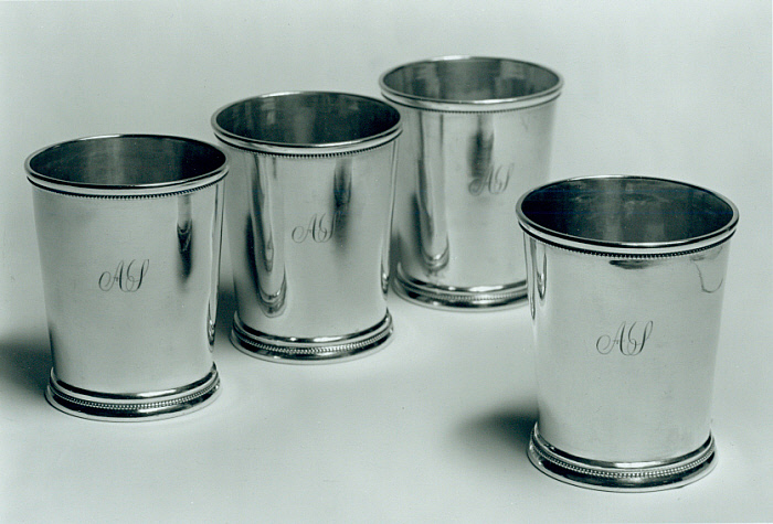 Set of Four Beakers