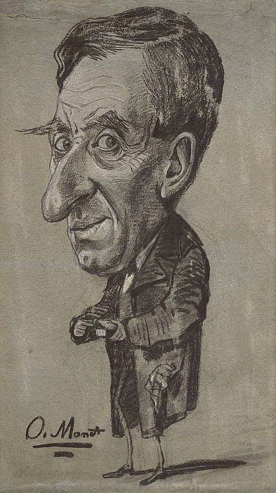 Caricature of a Man with a Snuff Box