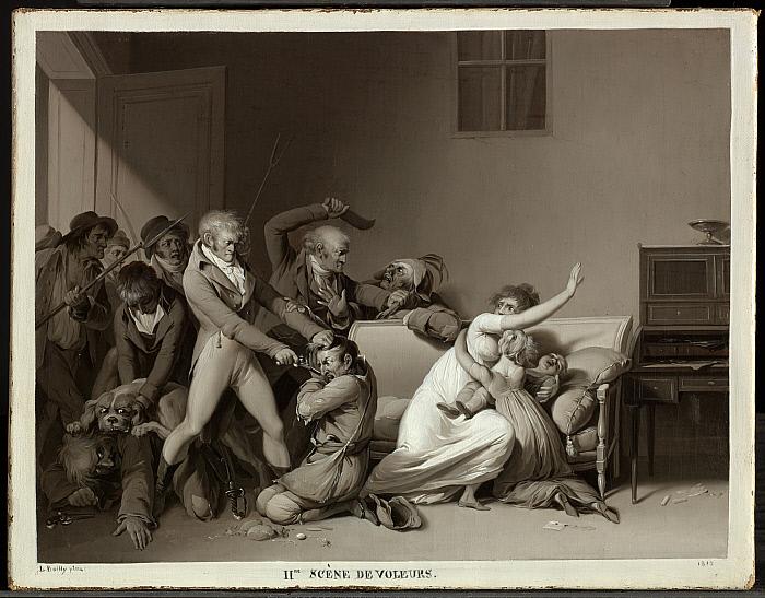 Second Scene of Burglars: The Burglars Arrested
