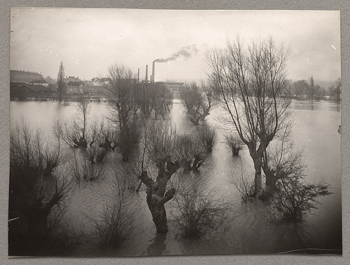 Flooding of the Rhône at Gisors