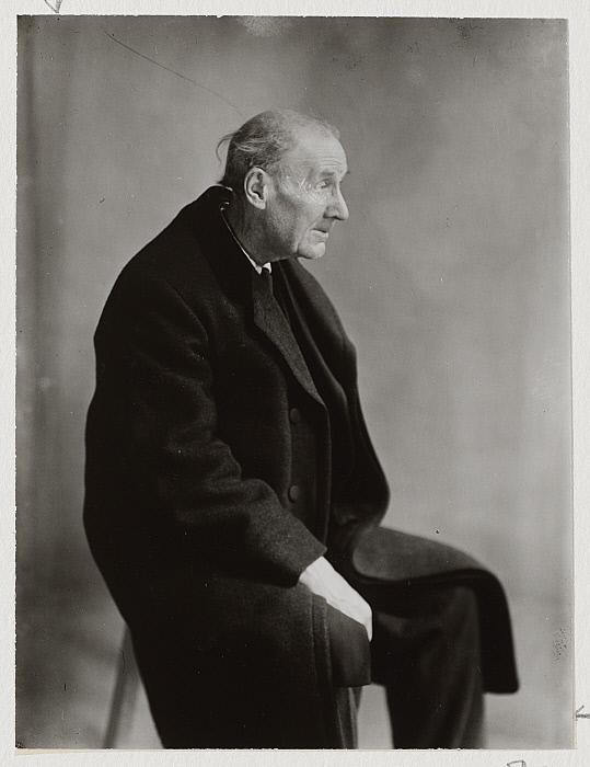 Portrait of Eugène Atget