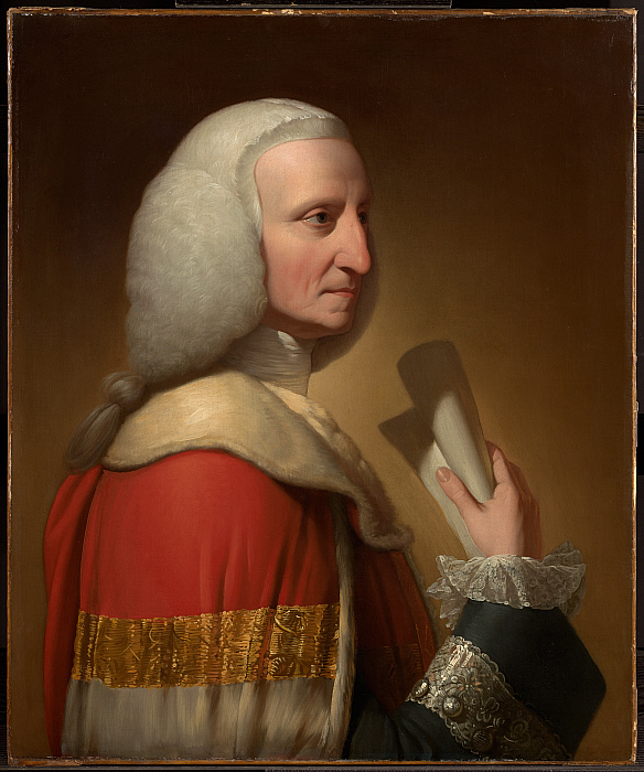 Portrait of George, First Lord Lyttelton
