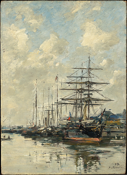 Le Havre, Sailboats in the Port