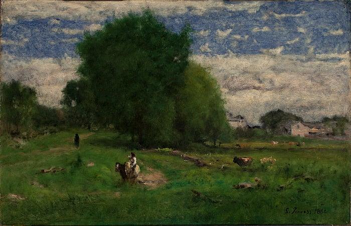 The Road to the Village, Milton