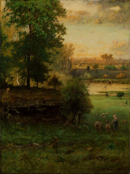 Scene at Durham, an Idyll