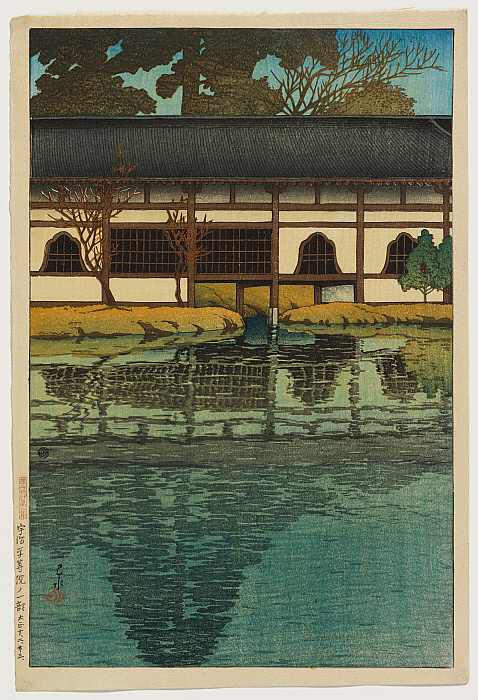 Clark Art - Part of the Byōdō-in Temple at Uji