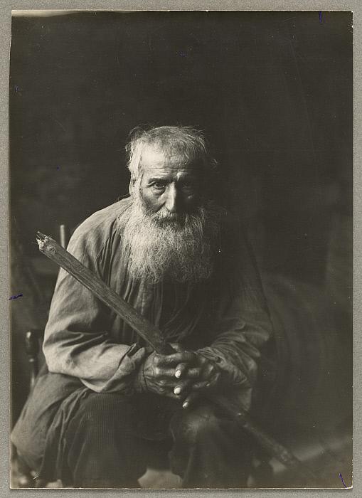 Portrait de paysan