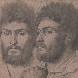 Two Portrait Studies of a Man