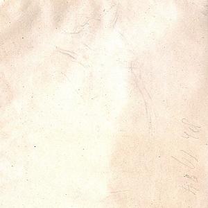 Verso of Study for Dead Fox