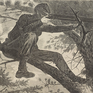 The Army of the Potomac—A Sharp-Shooter on Picket Duty