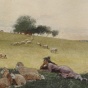 Shepherdess of Houghton Farm