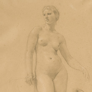 "Study of Venus for ""Apollo and the Muses in Olympus"""