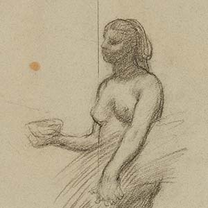 Woman with a Bowl and a Sheaf of Grain