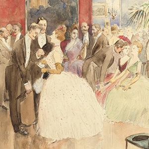 The Ball (Madame Forain)