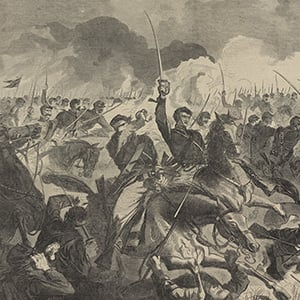 The War for the Union 1862—A Cavalry Charge