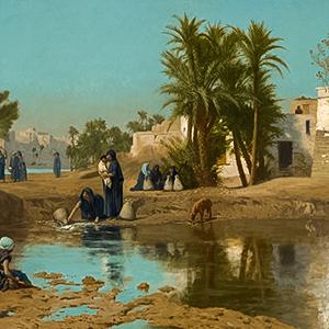 Fellah Women Drawing Water