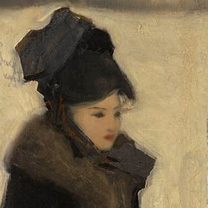 Woman with Furs