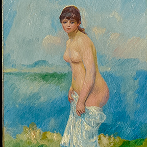 Standing Bather