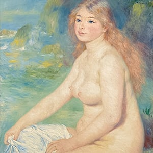 Blonde Bather