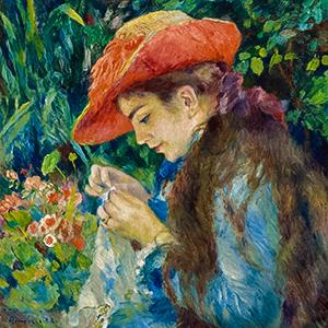 Marie-Thérèse Durand-Ruel Sewing