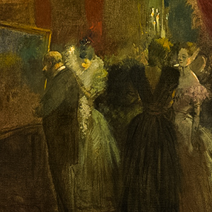 Reception at an Exhibition