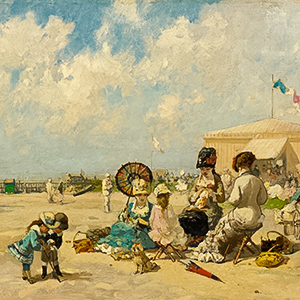 At the Seashore