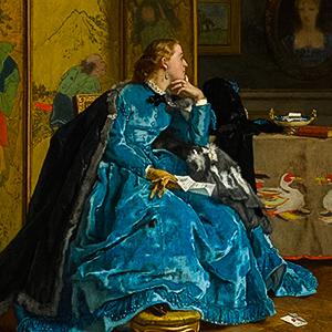 A Duchess (The Blue Dress)