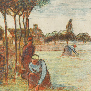 Peasant Women Weeding the Grass