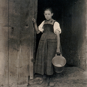 Black Forest Peasant Girl