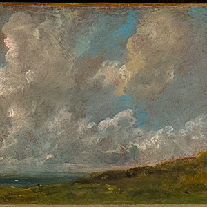 Study of Clouds over a Landscape