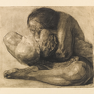Woman with Dead Child (Frau mit totem kind)