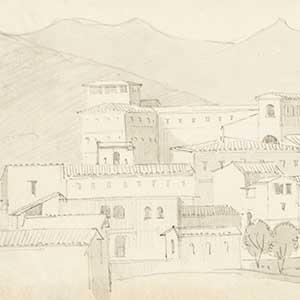 City and mountain (Ville et montagne)