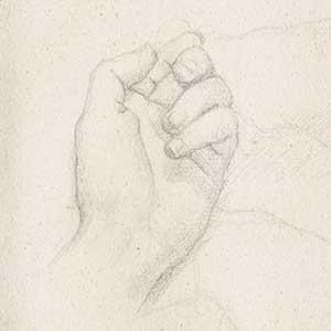 Five Studies of a Hand